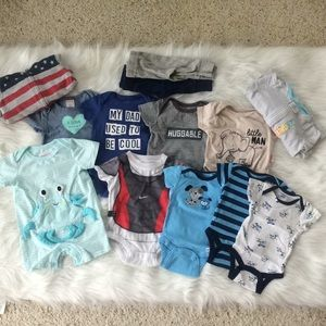 Other - Baby Boy Bundle! 0-3 Months